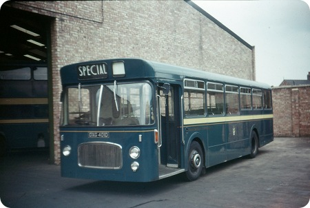 Middlesbrough Corporation - Leyland Panther Cub - DXG 401D - 1