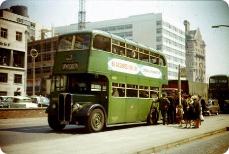 Liverpool Corporation - AEC Regent III - JKF 933 - A690
