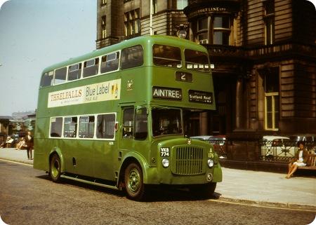 Liverpool corporation AEC Regent V