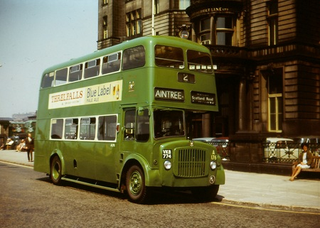 Old Bus Photos 187 Liverpool City Transport