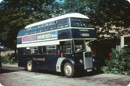 East Yorkshire - AEC Regent V - VKH 43 - 643