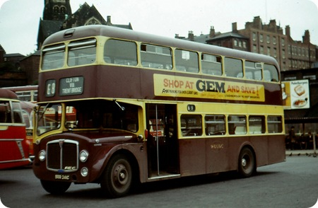 West Bridgford - AEC Renown - BRR 241C - 41