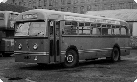 J Fishwick & Sons - Leyland Olympic - NTC 232 - 13
