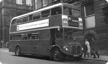 London Transport - AEC Routemaster - 254 CLT - RMF 1254
