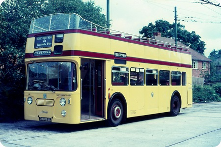 Bournemouth Corporation - Daimler Fleetline - CRU 188C - 188