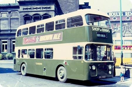 Tyneside Omnibus Company Leyland Atlantean
