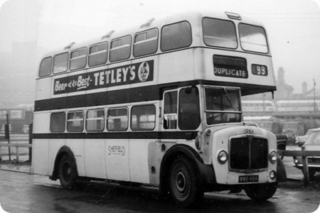 Sheffield Corporation - AEC Regent III - WWB 484 - 1284