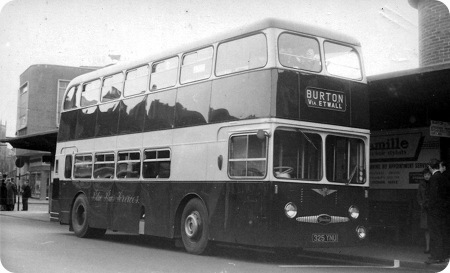 Blue Bus Services Daimler Fleetline