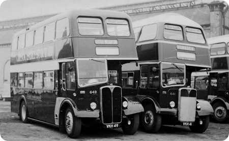 East Yorkshire AEC Regent V