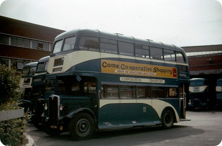 Hull corporation AEC Regent II