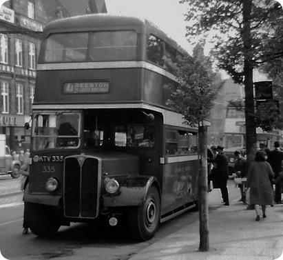 Nottingham City Transport AEC Regent III
