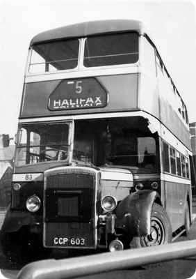 Halifax Corporation - Daimler CD650 - CCP 603 - 83