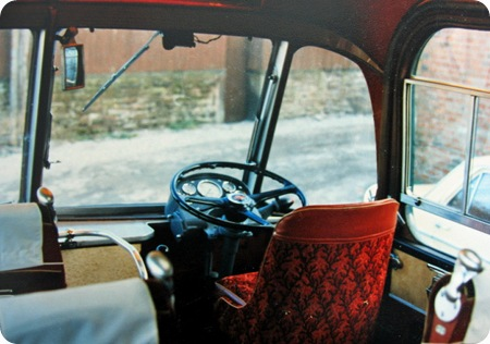 Chiltern Queens  AEC Reliance Interior shot