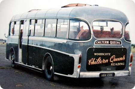 Chiltern Queens  AEC Reliance Rear shot