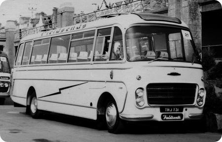 J W Fieldsend Ltd - Ford Thames Trader - TRJ 731