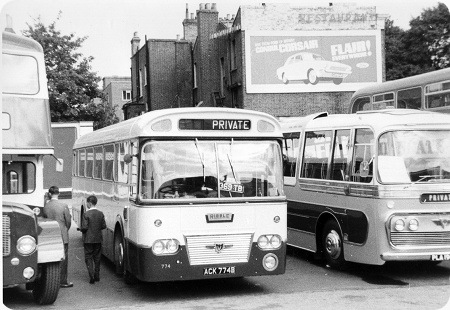 Ribble - Leyland Panther - ACK 774B - 774
