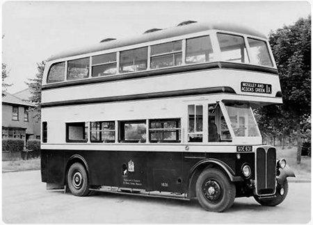 Birmingham Corporation - AEC Regent III RT - GOE 631 - 1631