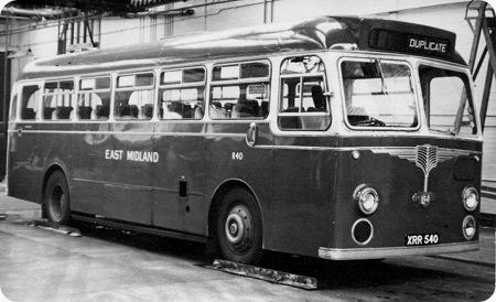 East Midland Leyland Tiger Cub PSUC1/2