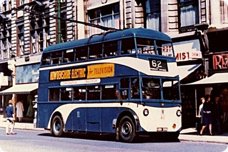 Kingston upon Hull Corporation Transport - Sunbeam W Trolleybus - GRH 356- Colour