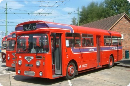 Doncaster Corporation - Leyland Royal Tiger Cub – UDT 455F - 55