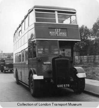 London Transport - Daimler CWA6 - GXE 578 - D1