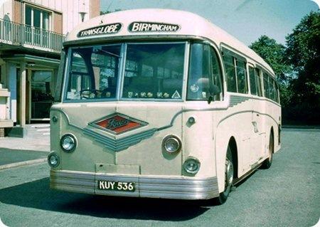 Transglobe Tours - Foden PVR - KUY 536