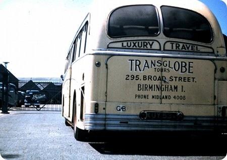 Transglobe Tours - Foden PVR - KUY 536 - Rear