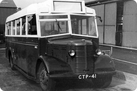 CPPTD 1943 Bedford OWB/Mulliner Bus B32F (Withdrawn 1963)