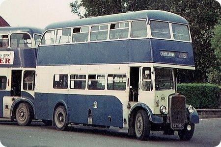Rotherham Corporation - Bristol K6B - EET 580 - 180