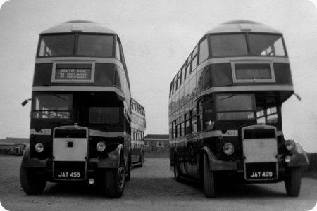 East Yorkshire - Leyland Titan PD1 - JAT 455 - 487
