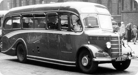 1948 Southdown Bedford OB/Duple Coach 71 - JCD 371