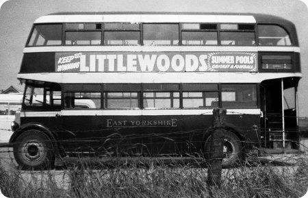 East Yorkshire - Leyland Titan PD1 - JRH 991 - 518