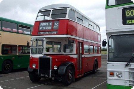 Preserved - ex Guernseybus - Leyland RTL - KYY 647