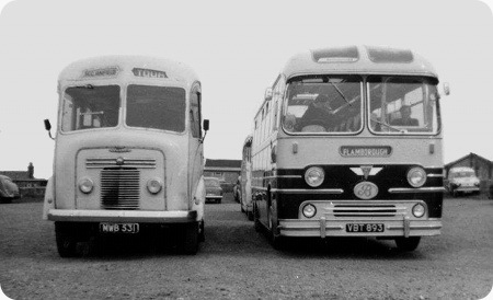 Boddys Coaches (Bridlington) - AEC Reliance - VBT 893