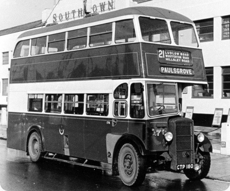 Portsmouth Corporation - Daimler CWA6 - CTP 180 - 179