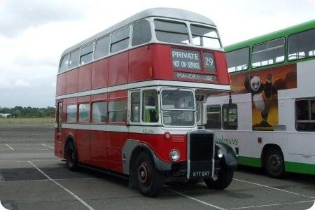 Preserved - ex Guernseybus - Leyland RTL - KYY 647-2