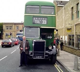 Bristol Omnibus - Leyland PD1 - LAE 13 - C4044_ at Otley