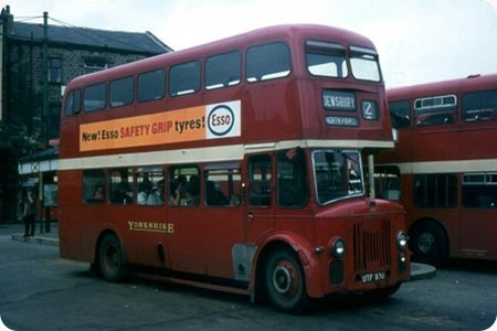 Yorkshire Woollen District  Leyland Titan  UTF 930  773