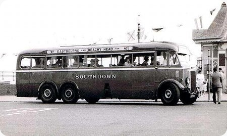 Southdown - Leyland Tiger - AUF 851 - 51 (551 from 1937)