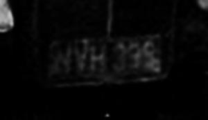 NVH 399_reg_plate