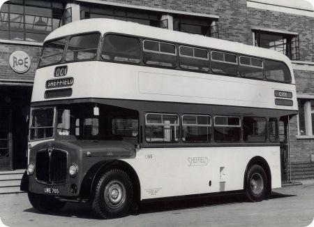 Sheffield Corporation - AEC Regent III - UWE 765 - 1265