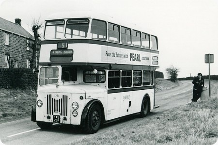 Sheffield Corporation - Leyland Titan PD2/20 - YWB 294 - 1294