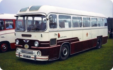 Boddy's Coaches - AEC Reliance - VBT 191