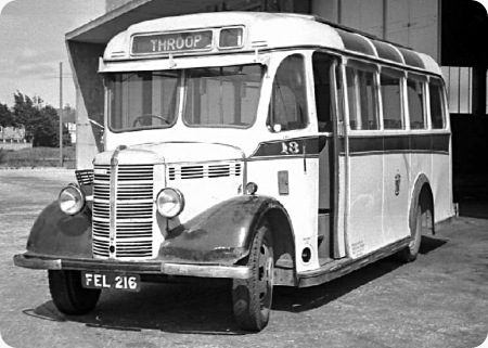 Bournemouth Corporation - Bedford OWB - FEL 216 - 18