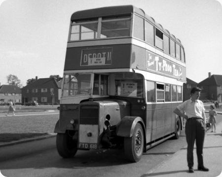Lytham & St Annes Corporation - Daimler CWA6 - FTD 618