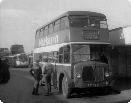 T Burrows & Son - AEC Regent V - PWY 943 - 89