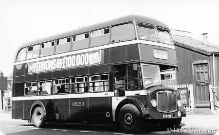 City of Oxford - AEC Regent V - 978 CWL - H978