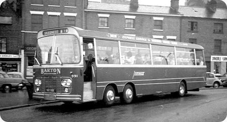 Barton Transport - Bedford Val - 991 VRR - 991