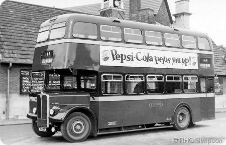 City of Oxford - AEC Regent V - WJO 947 - H947