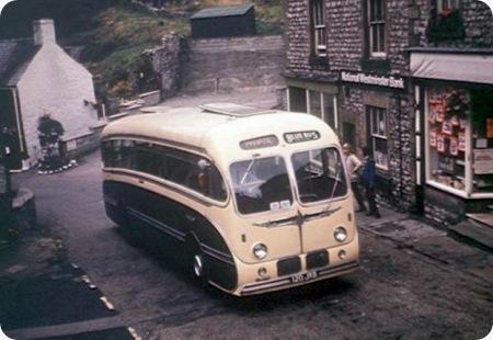 Blue Bus Services - Daimler Freeline - 120 JRB - Dr 18